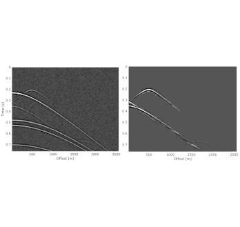 Diffraction processing using machine learning