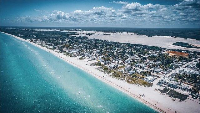 Beach, small island