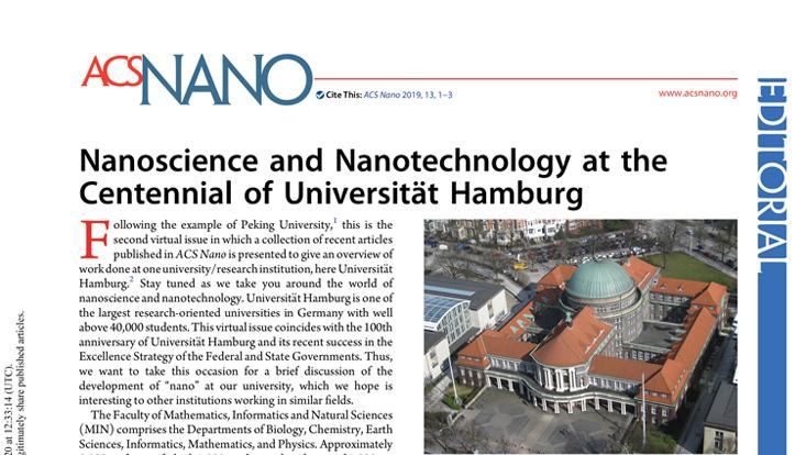 Screenshot eines wissenschaftlichen Artikels in der ASC Nano