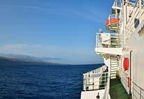 FS METEOR auf den Azoren
