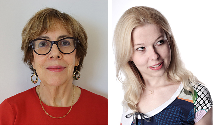 Belén Gavela und Kasia Rejzner