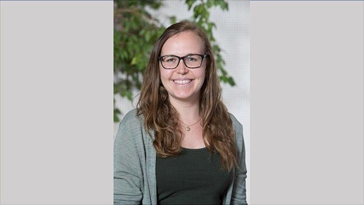 Portrait der Preisträgerin Caroline Compart