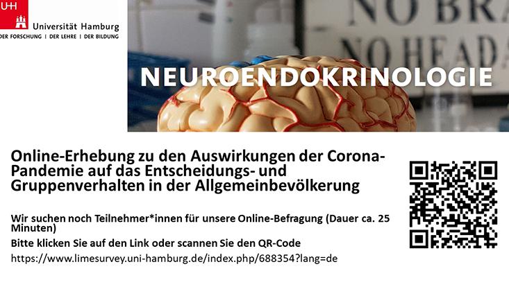 flyer online befragung zu corona