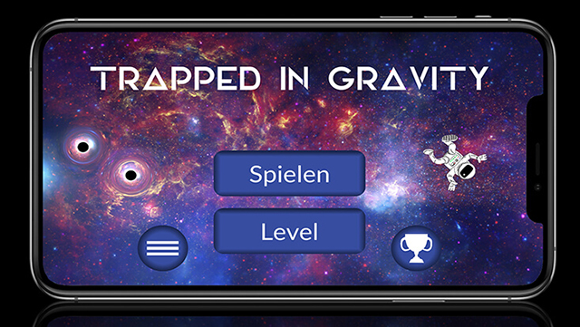 start screen trapped in gravity