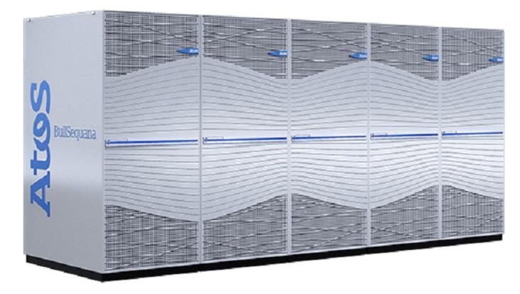 Neuer Supercomputer des DKRZ.
