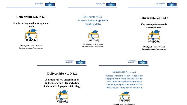 PANDORA Project Deliverable Output News