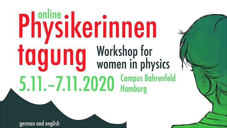 Plakat zur Physikerinnetagung
