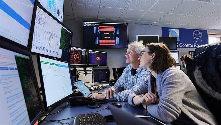 CMS control room