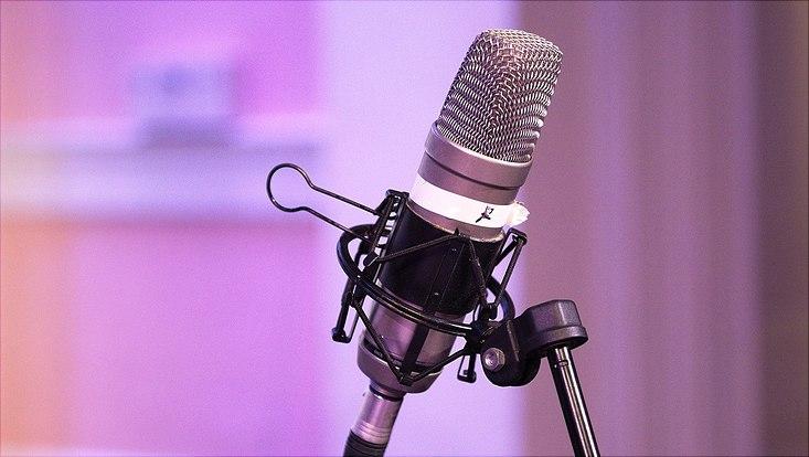Mikrophon-Symbol-Bild