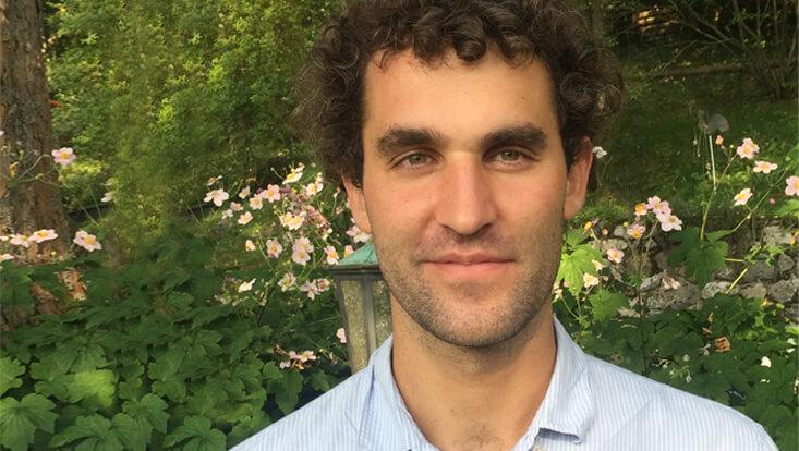 Dr. Guillaume Salomon erhält für sein ERC-Projekt rund 1,5 Millionen Euro.