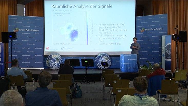 Bastian Kirsch auf dem Extremwetterkongress 2020