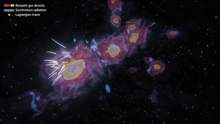 The VLA shedding light on the origin of cluster radio relics