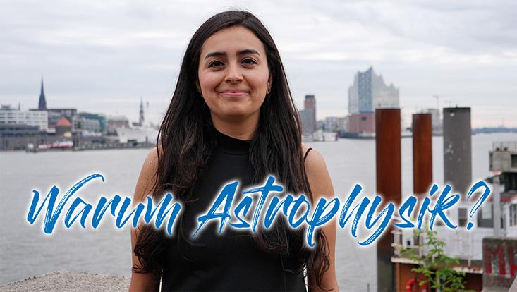 In der zweiten Folge erzählt die Doktorandin Paola Domínguez Fernández aus Mexiko, warum sie an der Hamburger Sternwarte promoviert, weshalb sie sich für ein Astrophysik-Studium entschieden hat und was sie am Leben und der Arbeit in Hamburg so toll f