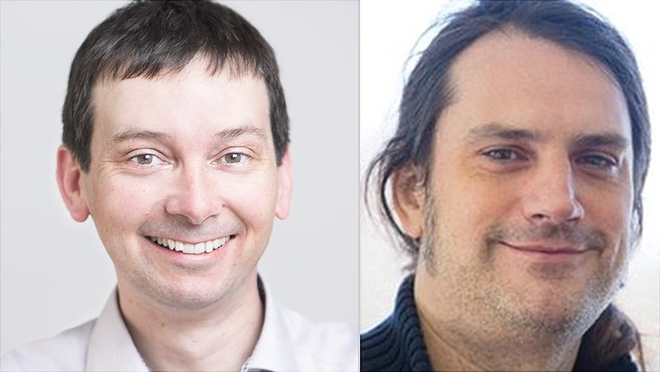 Die Wissenschaftler Henry Chapman und Wolfgang Parak