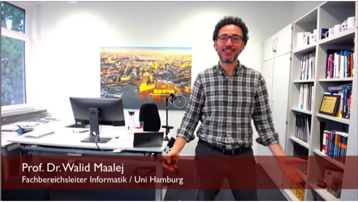 Fachbereichsleiter W. Maalej