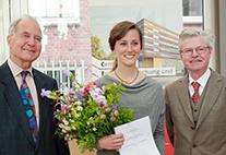 Verleihung des Partnerstädtepreises an Valerie Menke