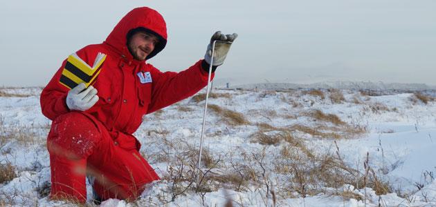 Feldforschung in Sibirien