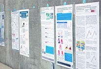 Wissenschaftliche Poster auf der DKT