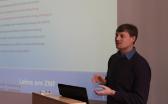 Markus Kohler bei einem Vortrag über die Lehre am ZNF