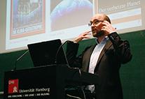 Michael Brüggemann bei seiner Antrittsvorlesung an der Universität Hamburg