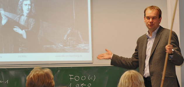 Prof. Rarey im Seminarunterricht