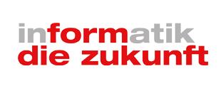 """Logo """"informatik die zukunft"""""""