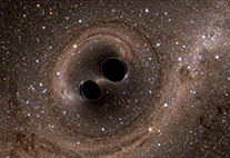 Black Hole Merger Simulation
