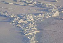 sea ice subduction