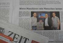 Zeit newspaper article