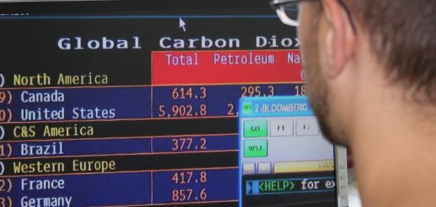 Online emission trading