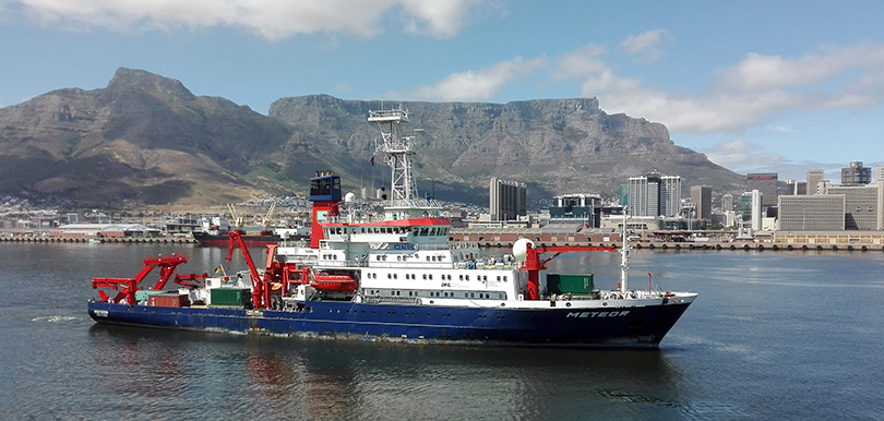METEOR Auslaufen Kapstadt