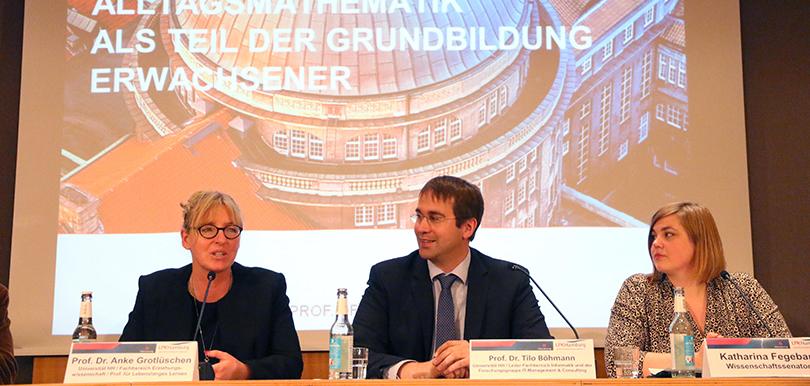Pressekonferenz mit Prof. Dr. Tilo Böhmann