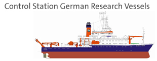 Control Station German Research Vessels
