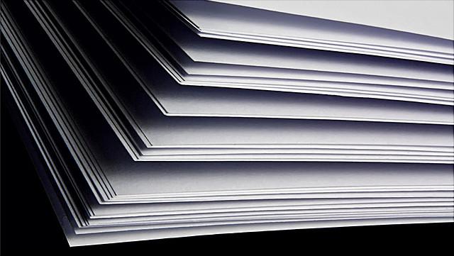 Papierbögen