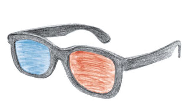 Illustration zum Versuch: 3D-Kino