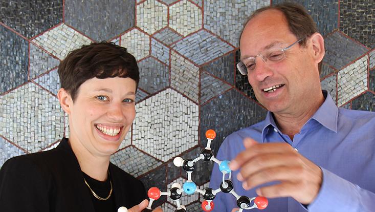 Prof. Chris Meier und Dr. Huchting