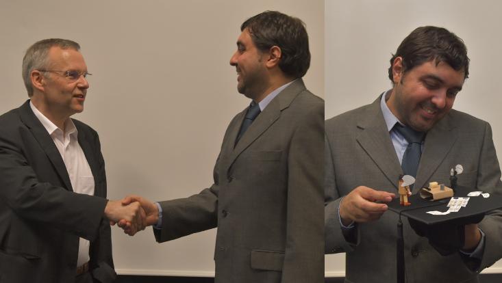 Francisco Cruz PhD thesis defense