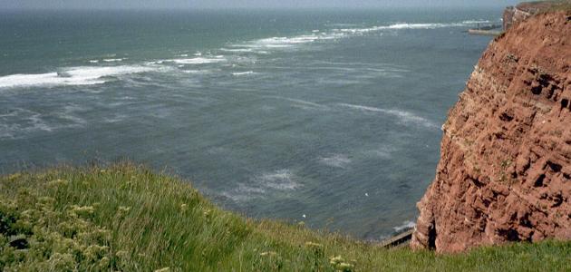 Helgoland Küste