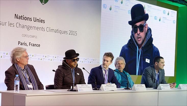 Pressekonferenz bei der COP21