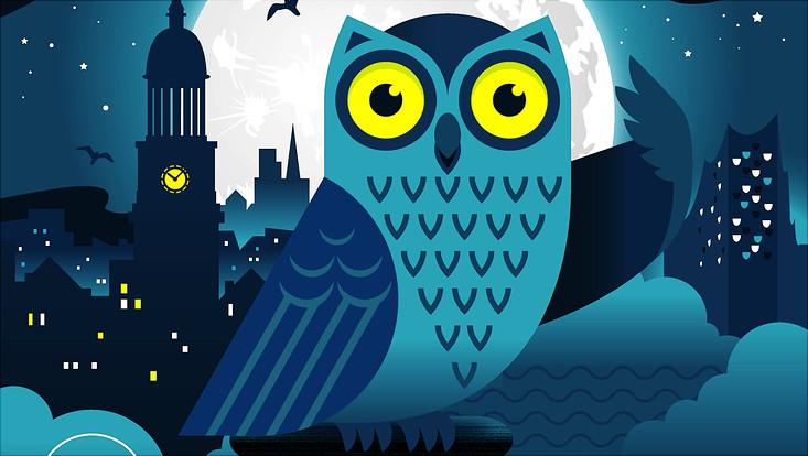 Plakat zur Nacht des Wissens 2017
