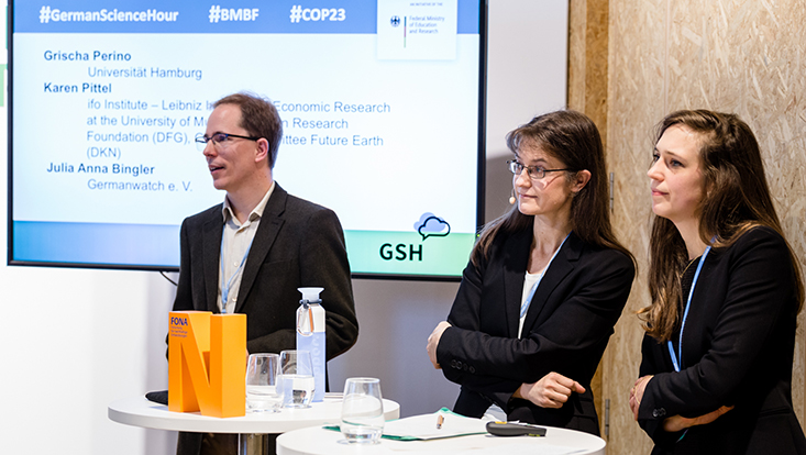 COP23 German Science Hour