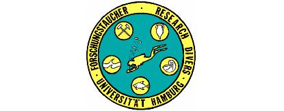 Logo der Forschungstaucher. Der Link bringt Sie wieder auf die Home-Seite der Forschungstaucher.