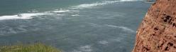 Die Küste Helgolands