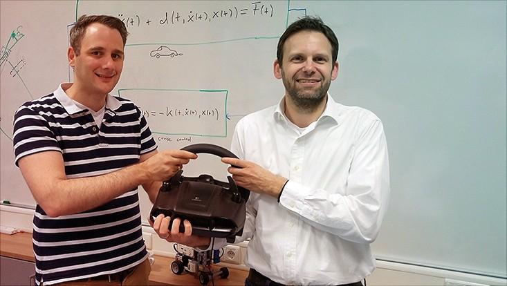 Timo Reis und Robert Seifried