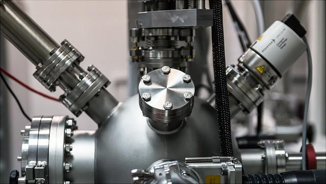 Detailansicht einer technischen Anlage