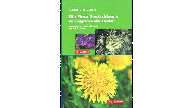 """Abbildung des Bestimmungsbuchs """"Schmeil-Fitschen – Die Flora Deutschlands"""""""