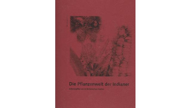 """Abbildung des Buchs """"Die Pflanzenwelt der Indianer"""""""