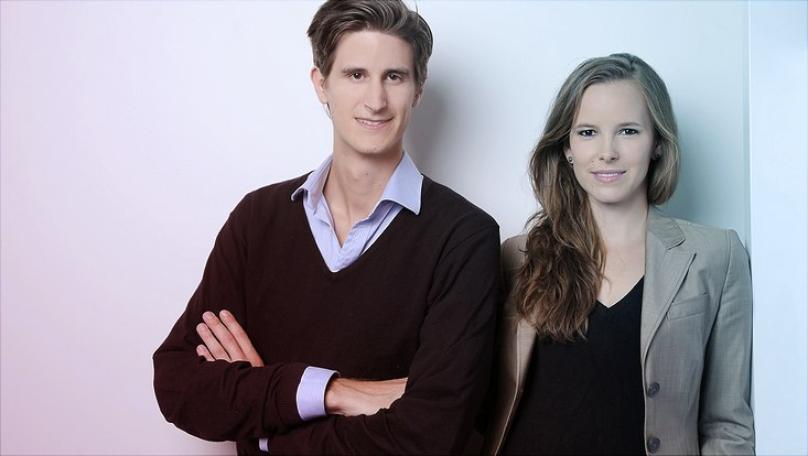 Founders Alexander Gassner and Mira Maier 1-733x414