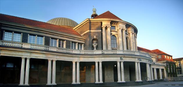 Hauptgebäude der Universität Hamburg von außen