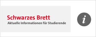 Banner Schwarzes Brett